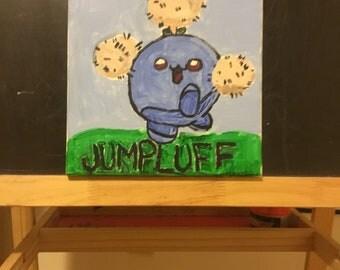 Jumpluff Pokemon Painting