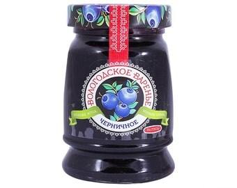 Organic Blueberry Jam from Vologda, Russia