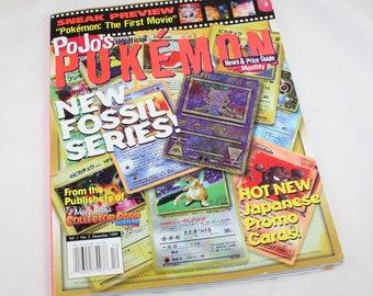 December 1999 PoJo's Pokemon News & Price Guide Monthly Magazine