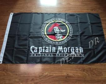 Captain Morgan Rum Flag