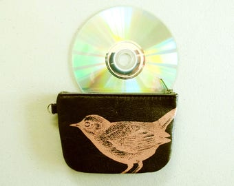 Bird Wallet Recycled Leather