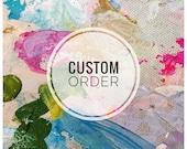 Custom order - lovely love story 16x20
