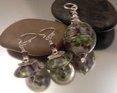RESERVED FOR TRACY - pendant and earring set
