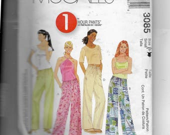 McCall's Misses' Pants Pattern 3085