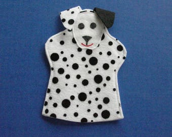 Dalmatian Dog Hand Puppet Party Favor for Kids