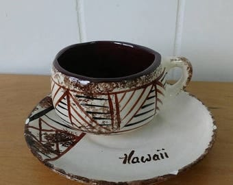 LOVE SALE vintage Hawaii cup and saucer