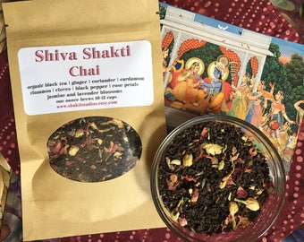 SHiVa SHaKTi Chai Tea Blend ONE OUNCE oz