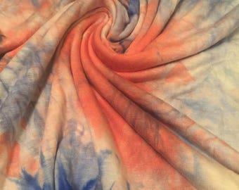 Tie Dye Stretch Jersey Knit 1 Yard