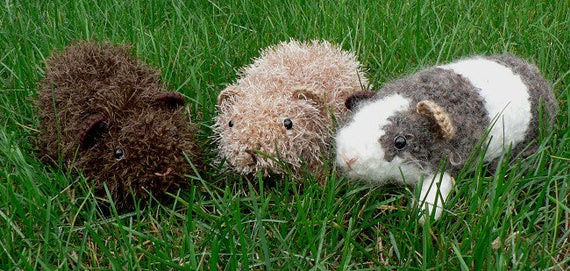 PDF Fuzzy Guinea Pig amigurumi CROCHET PATTERN | Etsy