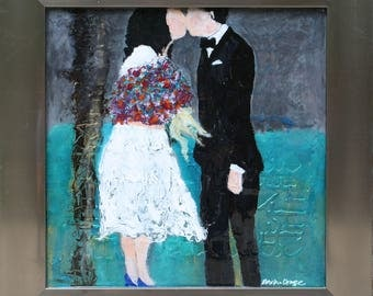 Custom for You - Abstract Bridal Portrait