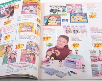 Toys R Us, Christmas 1995, Vintage, Holiday, Commercial Catalogue, Toys, Product Listings, Descriptions, Collectors ~ The Pink Room ~ 160917