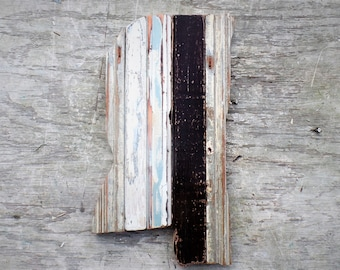 Wooden Mississippi, Wood State Wall Art. Southern Decor, Ole Miss Decor, Architectural Salvage. Rustic Wall Decor, Boho Room Decor