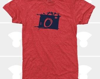 Men's CAMERA Tshirt. Photography Shirt. Sketch Camera. Photographer Gift. Gift for Men. Photography Gift. Shoot Film