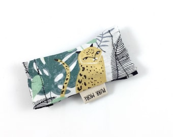 Leopard Green Bean Organic Eco Friendly Catnip Cat Toy For Mew