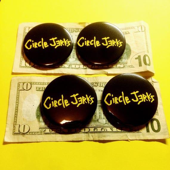 "Circle Jerks 2.25"" Pin"