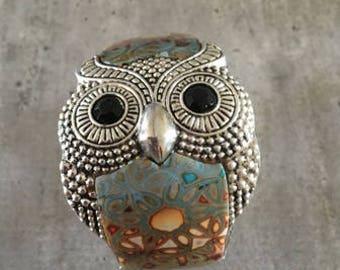 Polymer clay bracelet - Owl bracelet