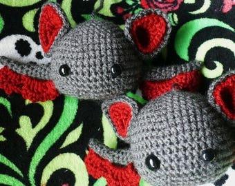 Summer Sale Baby Amigurumi Bat Crochet Pattern PDF