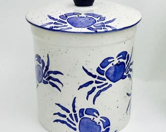 Medium Size Canister. Turtle. Lobster. Mermaid. Crab. Octopus. Sand Dollar.  Canister Set. Whimsical. Housewarming. Wedding.