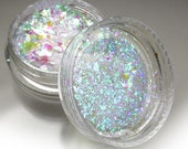 """Holographic Dichroic Art Flake Pigments """"Electra Opal""""  Lumiere Lusters"""
