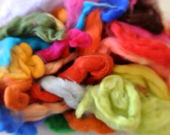 Merino wool, SUPERFINE, more then 30 colors 2.6oz/75gram