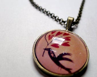 Necklace on the Moon, bird love CO032