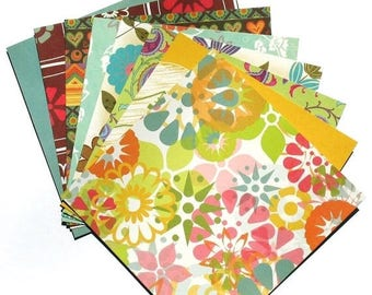 50% OFF - Garden Party - 6x6 MemoryStor Paper Pack