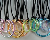 Hula Hoop Necklace Hula Hoop Jewelry Hula Hoop Charm Necklace