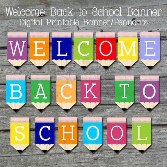 photograph regarding Welcome Back Signs Printable named Welcome Back again Indications Printable Everyday Drive Estimates