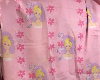 Barbie Twin Flat Sheet