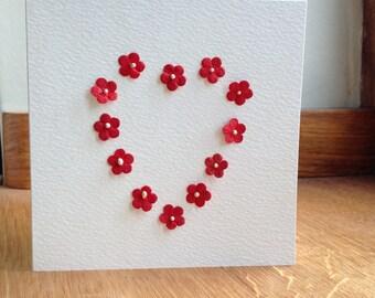 Valentine Red Flowers