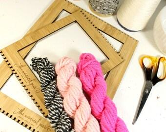 heart breaker   ... handspun yarn set, weaving creative yarn bundle, hand spun, hand dyed yarn, handspun art yarn