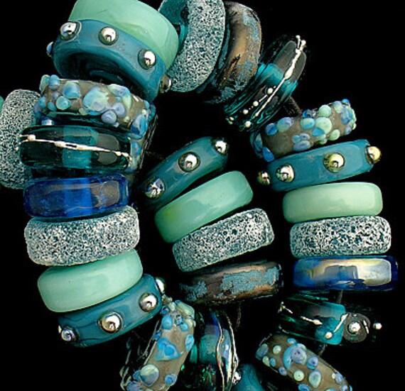 Lampwork Beads Glass Beads Statement Necklace Beach Jewelry Supplies Beading Organic Beads For Jewelry Bead Bracelet Debbie Sanders