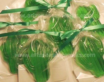 25 Saguaro Cactus Soaps - Southwest - Individually Wrapped - Birthday - Party Favor