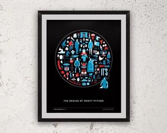 It's (The Genius of Monty Python) Giclèe Print