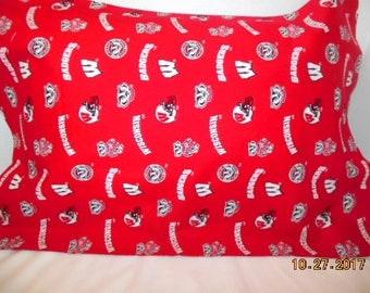 Wisconsin Badgers Pillowcase