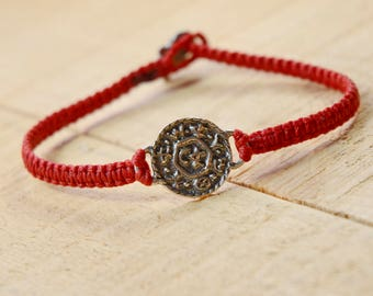 Livelihood and Business Amulet Hand Woven Bracelet