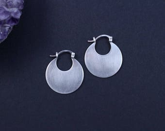 Small Disc Hoops