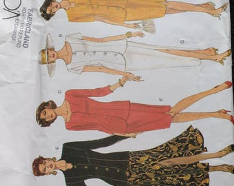 Vogue Basic Design Top and Skirt Pattern 1173