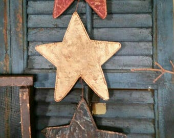 Primitive Americana 3 Star Hanging.  Awesome