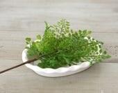 "Faux Green Maidenhair Fern Bush 11"" Pick - Artificial greenery/wreath making supplies/DIY wedding centerpiece"