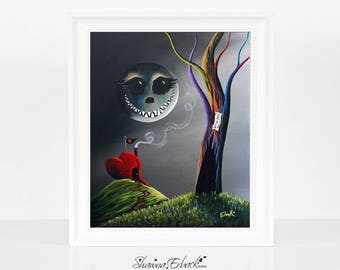 We're All Mad Here - Alice In Wonderland Art by Fairytale Artist ERBACK - Fine Art Prints - Limited Editions - Canvas & Paper - Last Ones