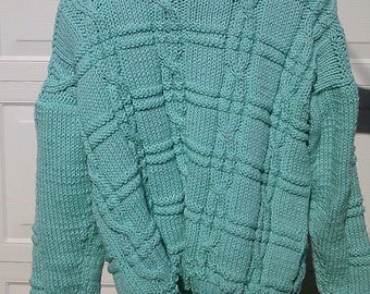Guernsey Fisherman Acrylic Pullover