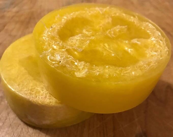 Lemon Luffa Soap