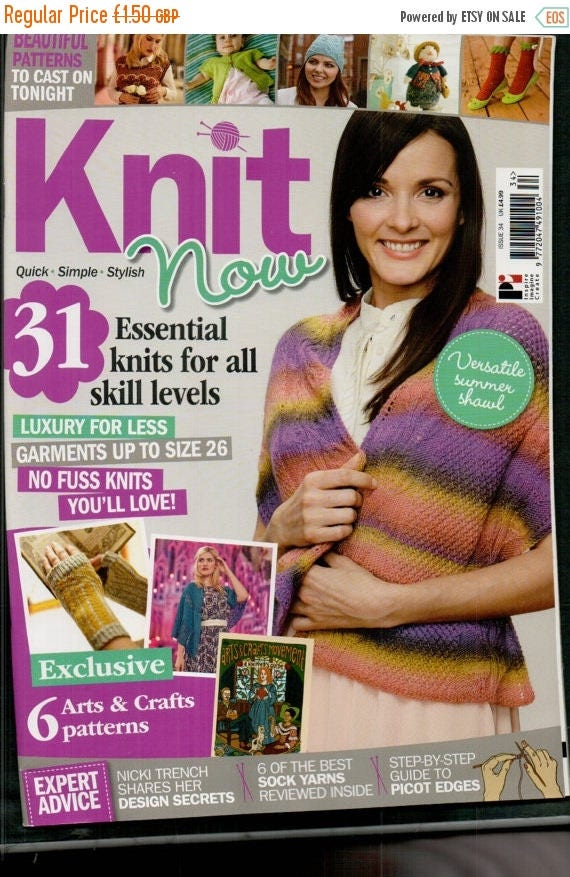 Christmas In July Knit Now Knitting Magazine Issue 34 April 2014
