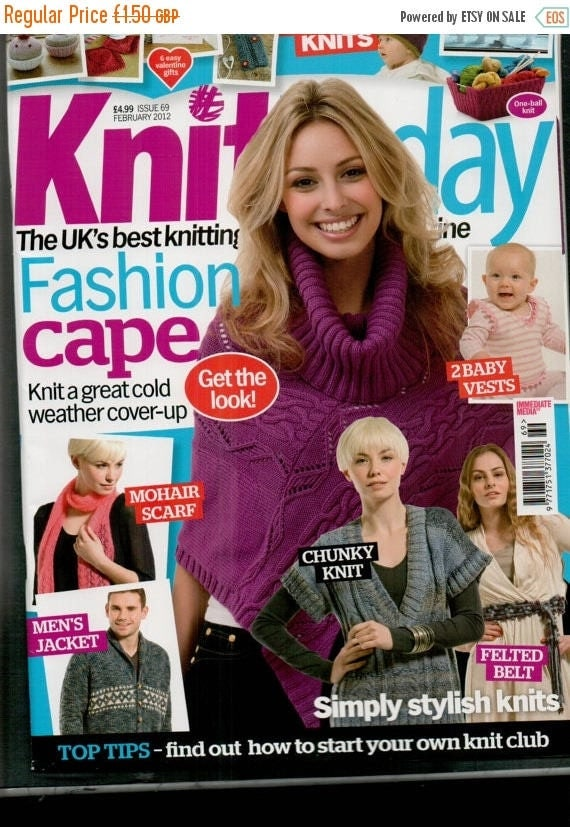 Christmas In July Knit Today Knitting Magazine Issue 69 February 2012