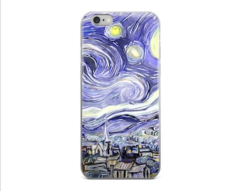 Van Gogh Phone Case iPhone 6s Case iPhone 6 Plus Case Starry Night iPhone 7 Case iPhone 6s Plus Case Cover iPhone 6 iPhone 6 Case iPhone 5