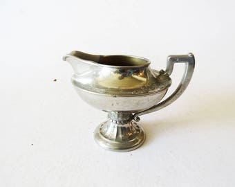Silver Trophy Pitcher // 1940's Means Best Silver Manning and Bowman Decor // Vintage Home Decor