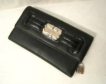 Black Wallet,  Non leather wallet cards and change women wallet