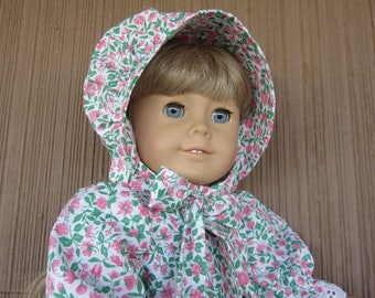 Handmade Pioneer Dress for the 18 inch Doll such as Kirsten, for any Little Girl who likes to Play Laura Ingalls with their dolls