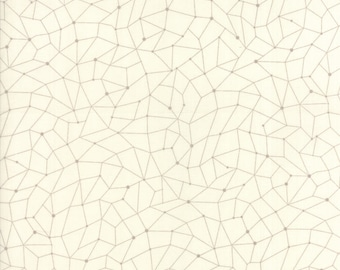 MODA Modern BG Background Colorbox Geometric Porcelain Dove Grey 1647 28 Yardage by Brigitte Heitland of Zen Chic